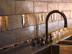 Copper Tile Backsplash For Kitchen Kitchen Backsplash Tile Copper Freshouz