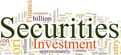 Dematerialisation Of Securities Mba Project by Classification Of Securities