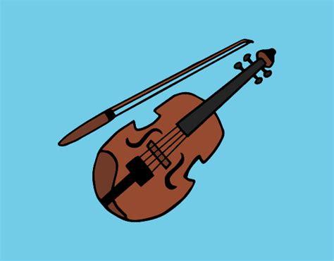 imagenes a lapiz de violines dibujos de violines para colorear dibujos net