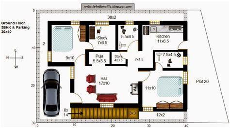 3 bhk house plan 30 x 40 joy studio design gallery my little indian villa 37 r30 2 5bhk in 40x30 west