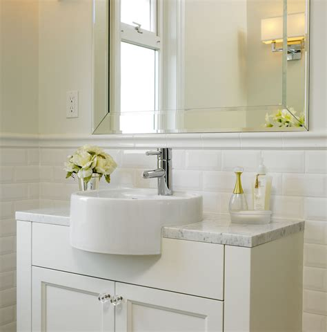 Tile Wainscoting Bathroom by 30 Cool Ideas And Pictures Of Farmhouse Bathroom Tile