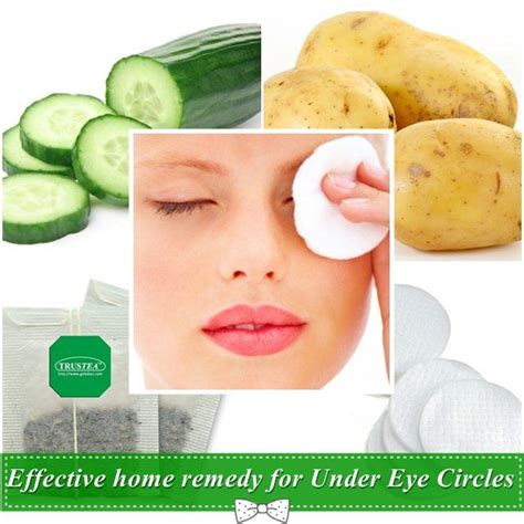 7 Best Treatments For Eye Circles by Effective Home Remedy For Eye Circles