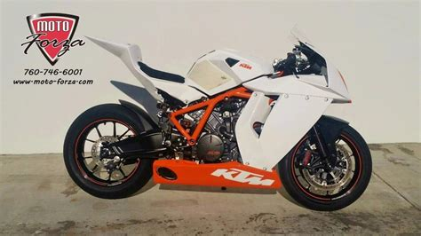 Ktm R8 Ktm 1190 Rc8 R Race Motorcycles For Sale