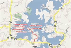 lake chatuge area maps local area maps in hiawassee