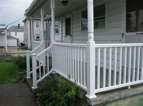 front porch railings and columns interesting ideas for home