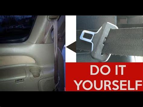 accident recorder 2002 ford econoline e150 seat position control how to fix repair a stuck seatbelt retract seat belt toyota ford nissan honda dodge hyundai kia