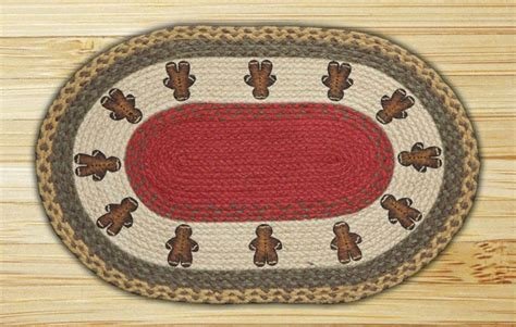 gingerbread rug gingerbread oval patch braided rug by capitol earth rugs the patch