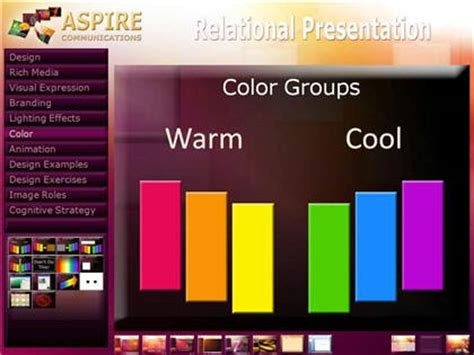 combining colors  powerpoint