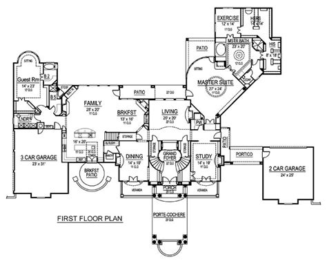 Palazzo Floor Plan | first floor plan palazzo di cresta architecture
