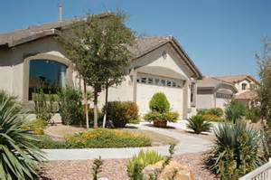 desert landscape front yard ideas with rocks and dunes