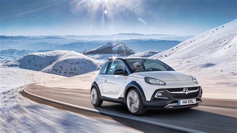 vauxhall adam rocks the motoring world geneva vauxhall opel stun the crowds