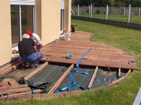 comment faire une terrasse en composite 3406 terrasse composite arrondie