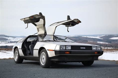 delorean dmc 12 for sale lastcarnews pristine 1983 delorean dmc 12 for sale at