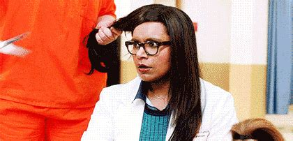How To Spot A Bad Haircut Part 1 | mindy kaling gif find share on giphy