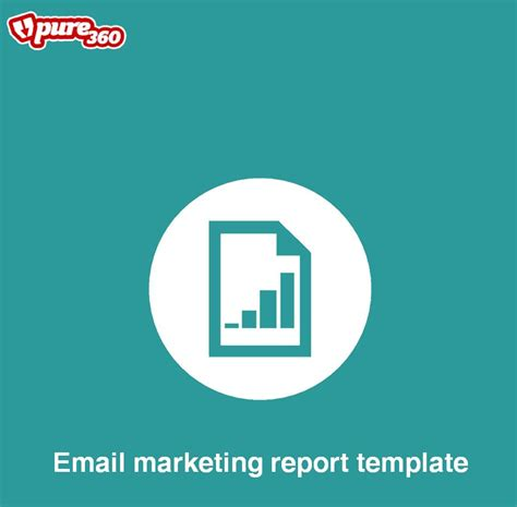 email marketing report template free email marketing report template pure360