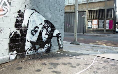 art industry news lost banksy  coke sniffing