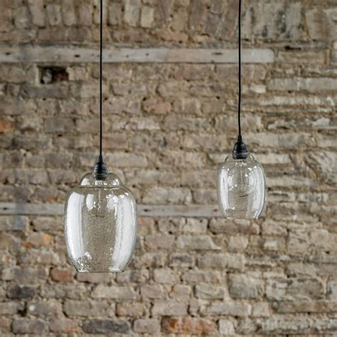 hanging glass pendant lights hanging clear glass pendant light grace home