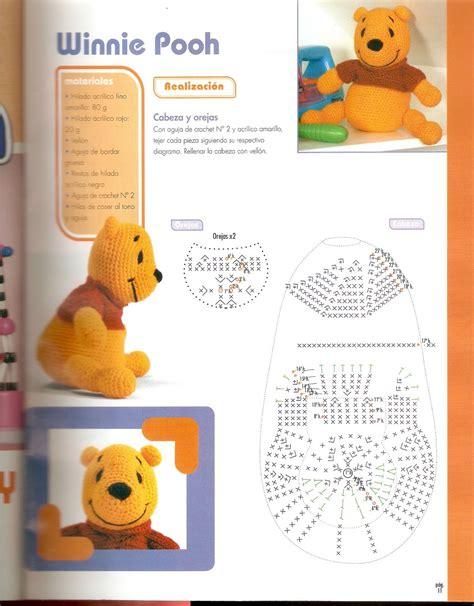 amigurumi pattern winnie the pooh winnie the pooh amigurumi pattern 1 1 free cross