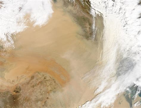 dust and smoke iraq and the middle east hazards