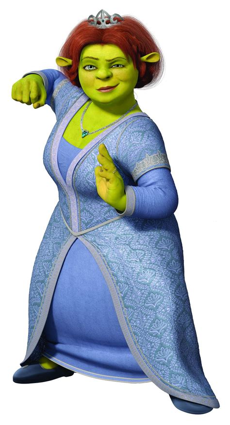 Gamis Fiona princess ogre to birthday as told by catman the bandit