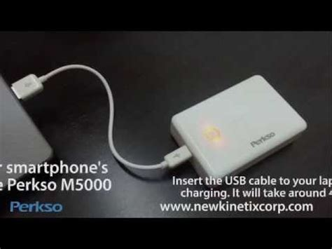 how to charge power bank how to charge perkso m5000 power bank