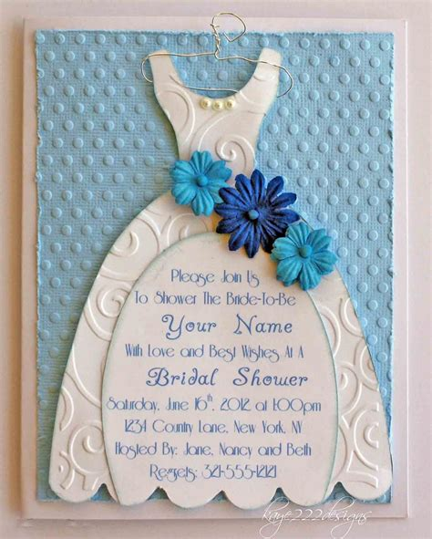 bridal shower ideas using cricut cricut bridal shower invitation here is a up of the embossing flowers pearls and