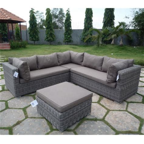 outdoor l shaped couch outdoor l shape sofa set global sources