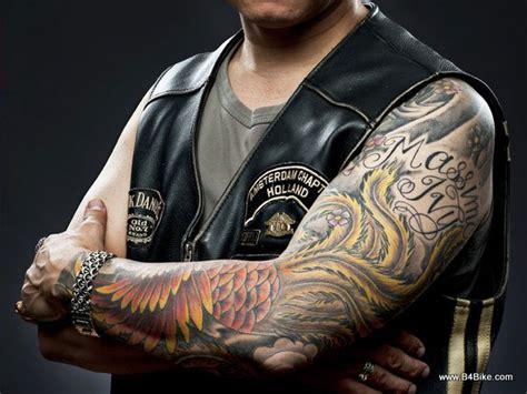 biker sleeve tattoo designs cool design ideas for biker b4bike
