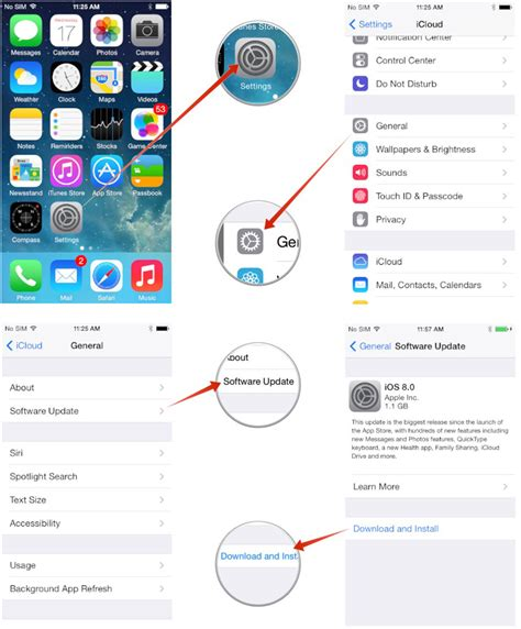 install ios 711 update on your iphone ipad or ipod touch how to install ios 8 1 on your iphone and ipad even if