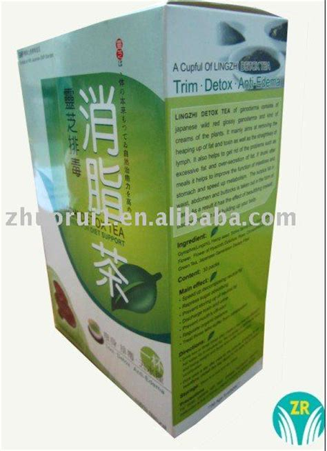 Detox Slim Tea Suppliers by Herbal Slimming Tea Lingzhi Detox Tea Products China