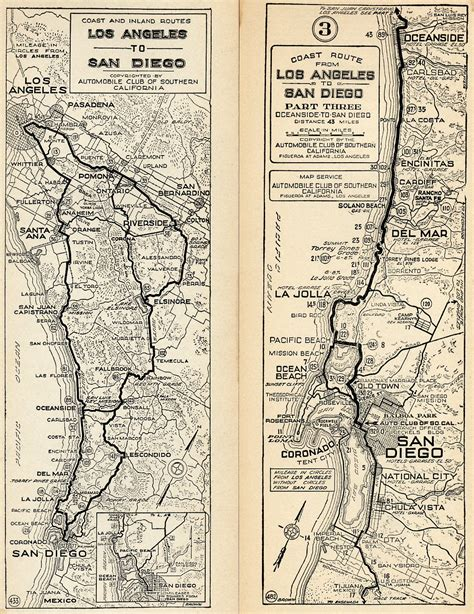 map of hwy 395 oregon u s 395 san diego original routes