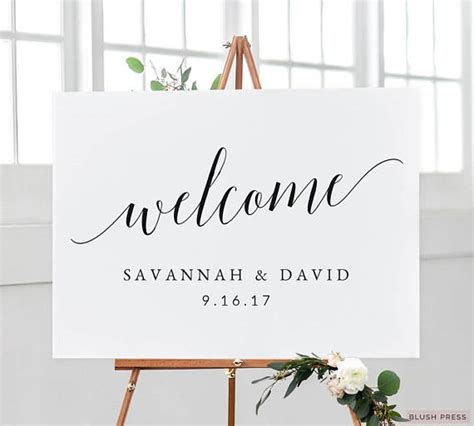 No At Your Wedding Our One 3 by Wedding Welcome Sign Template Printable Welcome Wedding Sign