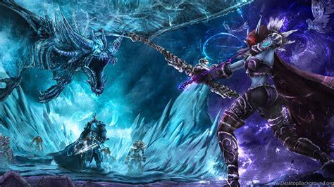 heroes   storm lich king world  warcraft sylvanas desktop background