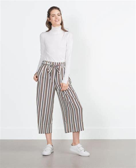Cut Culottes Kulot Wanita Zara 13 model celana kulot terbaru 2017 untuk remaja wanita modis