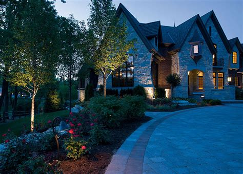 landscape lighting outdoor lighting sonnenberg landscaping