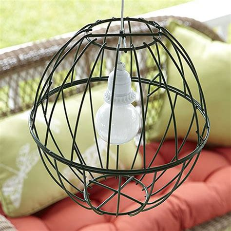 Simple Ideas For Hanging Wire Basket Hanging Ls Home Crafts And Ls On Pinterest