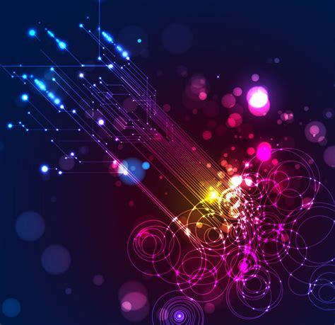 Lighting Background by Abstract Lighting Vector Background Free Vector Graphics