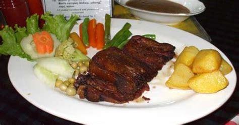resep masakan resep steak daging sapi lada hitam spesial