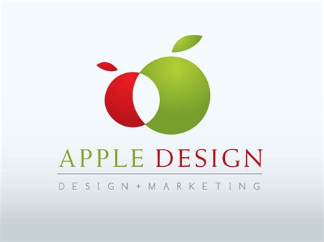 apple design apple logo design