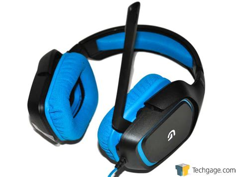 G430 Gaming Headset techgage image logitech g430 gaming headset
