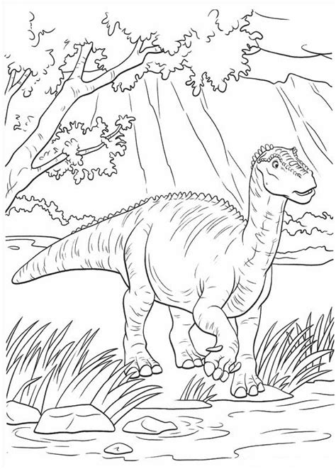 Disney Dinosaur Coloring Pages dinosaur coloring pages