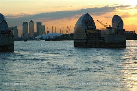 thames river tidal gates gary braasch sea level and climate change