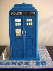 Tardis Template For Cake by Doctor Who Themed Cakes