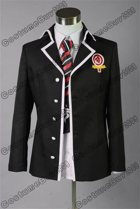 Costume Jaket Anime Blue Yellow aliexpress buy ao no blue exorcist rin okumura black coat suit japanese anime