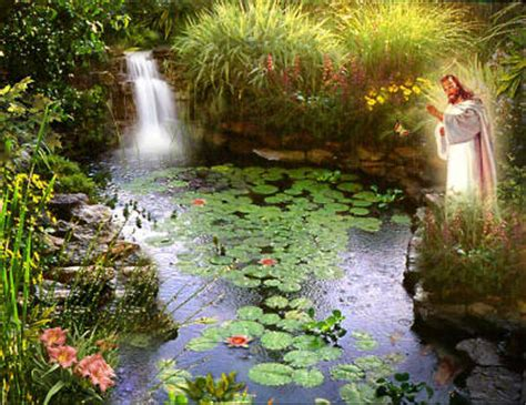 Jesus Garden by Garden Encounter Of The Jesus Peterson Toscano S A