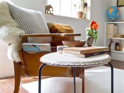design milk diy make it modern diy minimal leather stool cover design milk