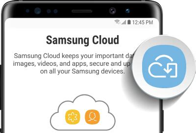 photos and stored only in samsung cloud
