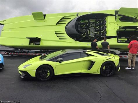Lamborghini Boot by Lamborghini Aventador And Speedboat On Sale On Ebay