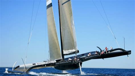 larry ellison s boat larry ellison s sail boat is literally faster than the wind