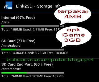 Harga Samsung Ace 3 Mati Total bali service computer cara menambah memory android bag 2